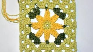 "Adventkalender 10 * Granny Square ""Margarita"""
