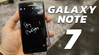 Meet the Galaxy Note 7