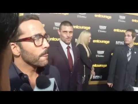 Jeremy Piven, Piers Morgan, Doug Ellin, Bow Wow - Entourage Movie
