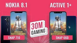 [30M Gaming #24] Nokia 8.1 vs Vsmart Active 1+: Snap660? Quá khứ rồi