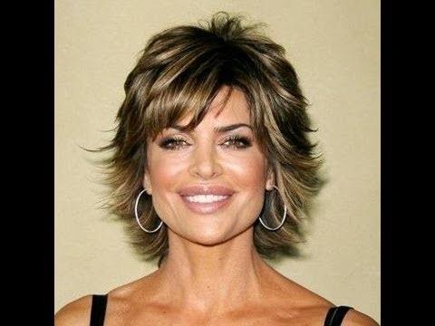 (Part 2 of 2) How to CUT and STYLE your HAIR like LISA RINNA Haircut Hairstyle Tutorial layered shag