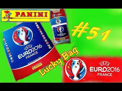 PANINI UEFA EURO 2016 FRANCE new OFFICIAL STICKER ALBUM EM Frankreich new UNBOXING 5 Aufkleber # 51