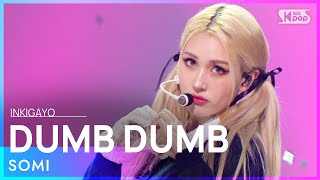 Download lagu SOMI(전소미) - DUMB DUMB @인기가요 inkigayo 20210829