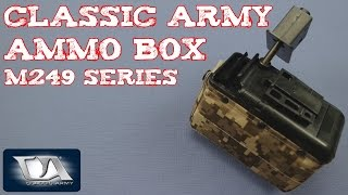 (Review) Classic Army Ammo Box for M249 Series P252P
