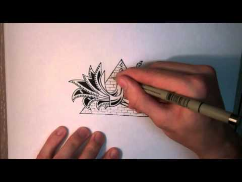 How to Doodle: Cool Mysterious Stuff [Speed Edit]