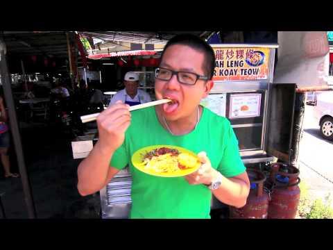 YuFood in Penang, Malaysia 3 - Char Koay Teow 檳城炒粿條