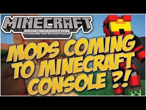 Minecraft Xbox & Playstation : MODS COMING TO CONSOLE EDITION? | 4JSTUDIOS HINTS!