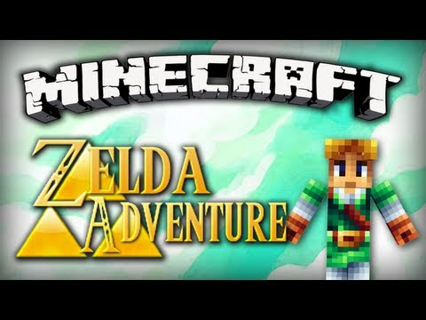 Minecraft : Zelda Adventure | Episode 3 - Le lac Hylia