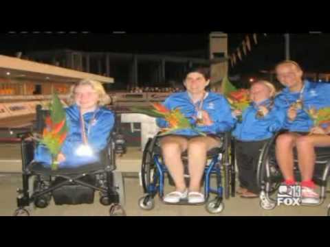 Kayla Wheeler Girl born with no legs and one arm is a competitive swimmer. - KCPQ.flv Video