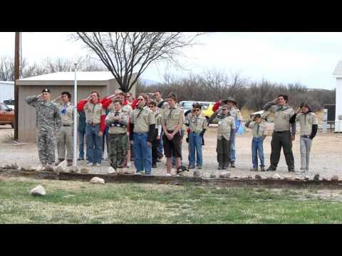 Flag Raising Ceremony ATKHChildrens Ranch Benson