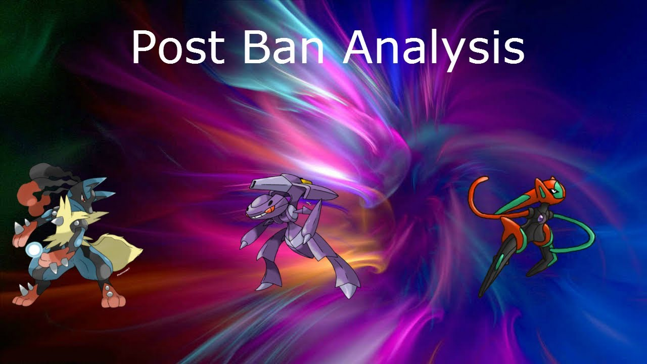 Post Ban Analysis-Mega Lucario, Genesect, Deoxys S - YouTube