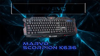 Unboxing i review - Marvo - Scorpion K636 tipkovnica -