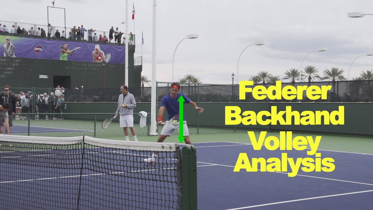 youtube tennis volley instruction