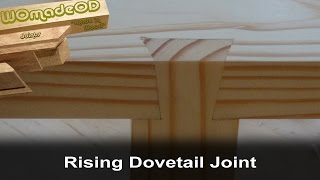 Rising Dovetail, 'Half Sumiyoshi', Joint  - 'Impossible Dovetail'