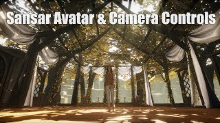 Linden Lab's Sansar - Avatar & Camera Controls - July 2017