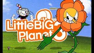 LittleBIGPlanet 3 - Cuphead: Floreal Fury [Boss] - Playstation 4