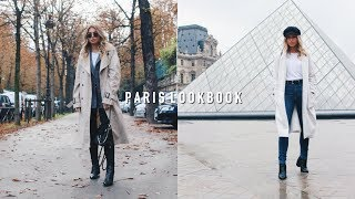 WHAT I WORE IN PARIS - CASUAL FALL FASHION OUTFIT IDEAS