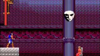 Castlevania Rondo of Blood - Stage 4' [Carmilla & Laura] (No Damage, Subweapons)