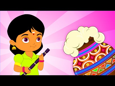 Vellai Ellam - Chellame Chellam Wishes You A Happy Pongal - Cartoon animated Tamil Rhymes For Kids video