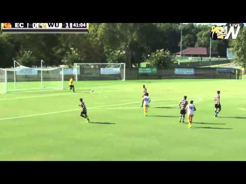 2014 Wingate Men's Soccer - Highlights from 4-1 win over Emmanuel - 9/6/2014