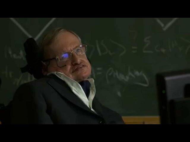 Stephen Hawking brought wonder to millions