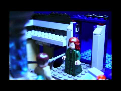 2013 Tardis Console In Lego (Scene From The Snowmen)