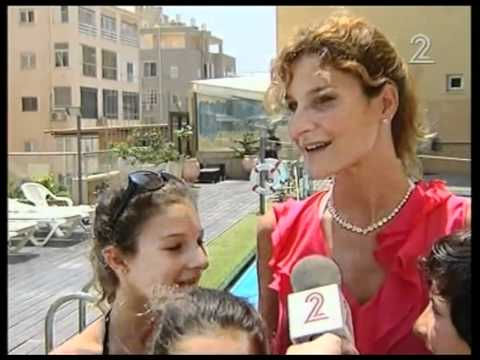 Les francais en vacances en Israel 2011