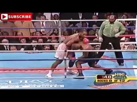 Mike Tyson vs Lennox Lewis  brutal Knockout