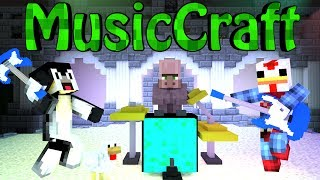 Minecraft | MUSIC MOD Showcase! (MusicCraft, Instruments, Rock Band)