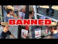 Kid Temper Tantrum BANNED At ALL Gamestops - Banned Flyers Posted At All Stores