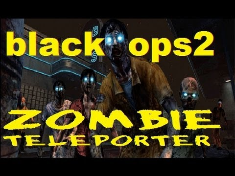 Black Ops 2 - How To Find and Use The -Teleporter- on Transit Black Ops 2 Zombies Single Player