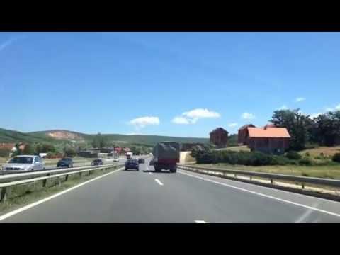 Kosovo Highway 2014    Autostrada e Kosoves