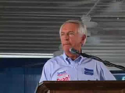 Steve Beshear At Fancy Farm, Kentucky