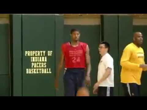 Paul George's Status Up In The Air : NBA Playoffs Indiana Pacers vs Miami Heat