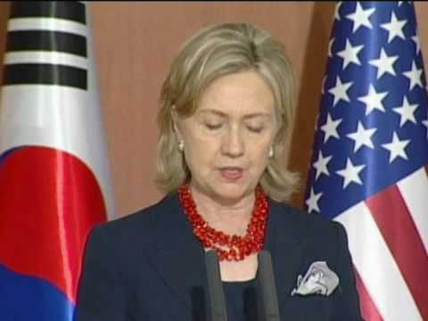 Secretary Clinton Meets with South Korean Foreign and Defense Ministers