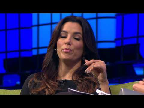 Web Summit 2014 Day One - Eva Longoria in conversation with Jemima Khan