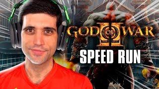 God Of War do PS2 sendo ZERADO. o mais RÁPIDO do MUNDO, técnicas INCRÍVEIS