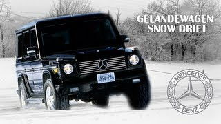 Gelandewagen - Snow Drift with G-class [FullHD]