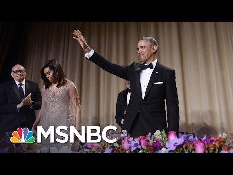 Obama gets laughs at Correspondents' Dinner
