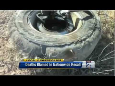 Rob Ammons on KPRC Channel 2 Houston on the Goodyear Tire Recall
