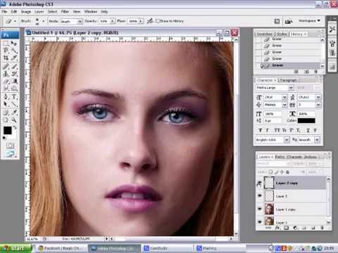 Kristen Stewart Makeover on Kristen Stewart   Photoshop Makeover