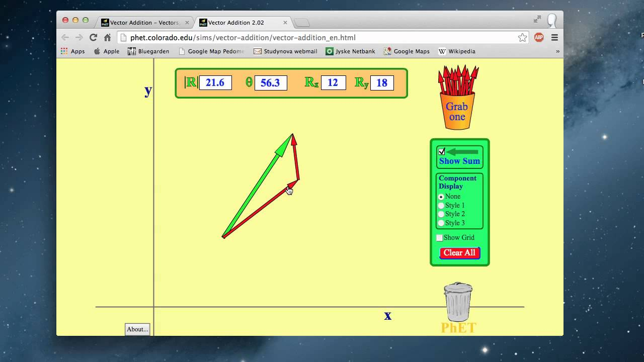 Vector Addition  PHET