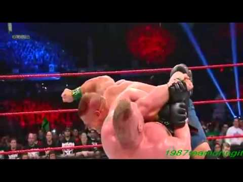 John Cena Vs Brock Lesnar (extreme Rules 2012) video