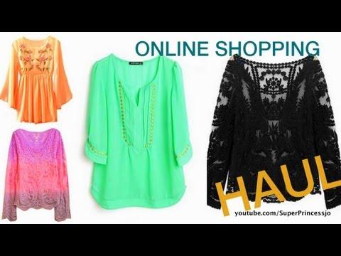 Online Women Fashion Clothing Website Sheinside.com HAUL and Review SuperPrincessjo
