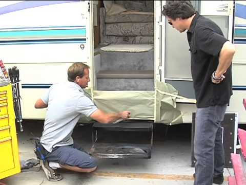 RV How To Recovering the RV Steps