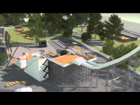 freestyle.ch's brand new Event Set-up in 3D
