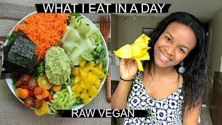 What I Eat in a Day | Raw Vegan & so delicious