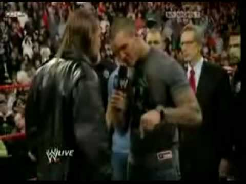 Randy Orton vs HHH Wrestlemania 25 Promo