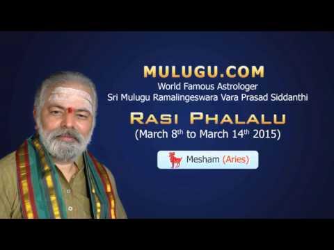 Mesha Rasi (aries Horoscope) - March 8th - March 14th 2015 video