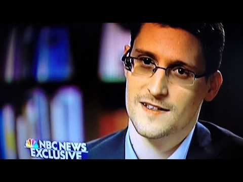 Edward Snowden Full Interview On NBC with Brian Williams Pt 5